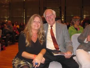 Dieter Dorn Gabriele Wieland auf dem 7. Wirbelsäulenkongress 17.10.2009 in Stuttgart