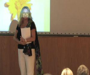 Gabriele Wieland spricht auf dem Dornkongress 2011